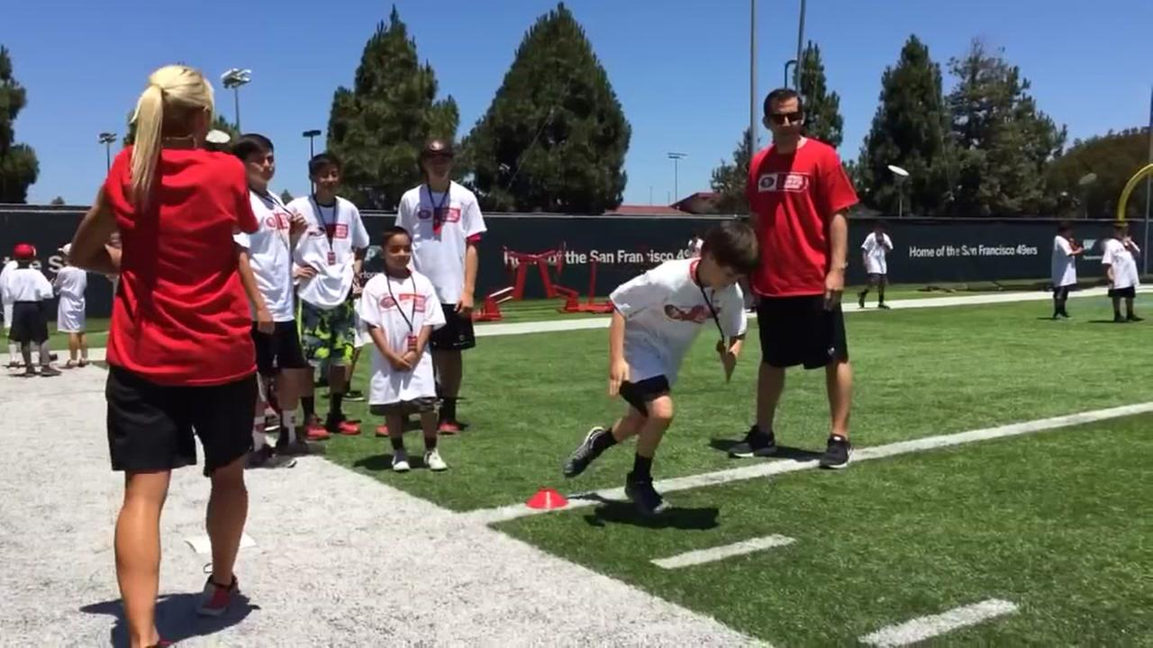 49ers launch football and STEM Academy summer camp