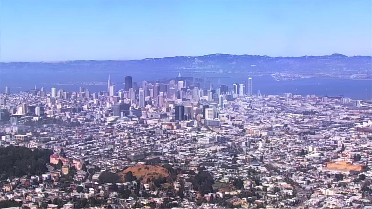 Views of the nice, sunny weather today from our ABC7 live cameras