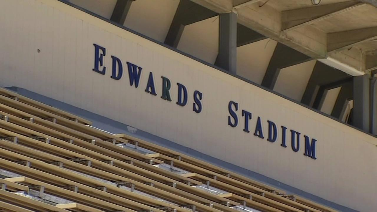 Edwards Stadium in Berkeley, Calif. is seen in this undated image.