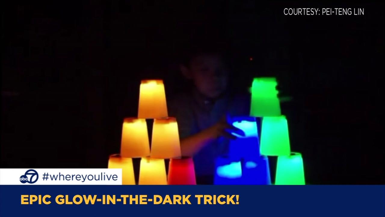 KNOW AND TELL: Epic glow-in-the-dark trick!