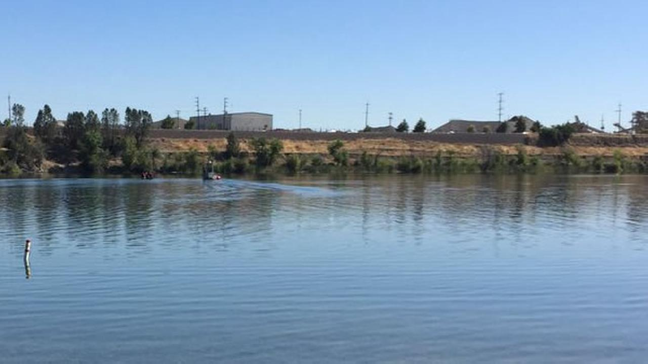 Crews recovered the body of a father and son from the water at Shadow Cliffs Recreation Area in Pleasanton, Calif. on Monday, July 11, 2016.