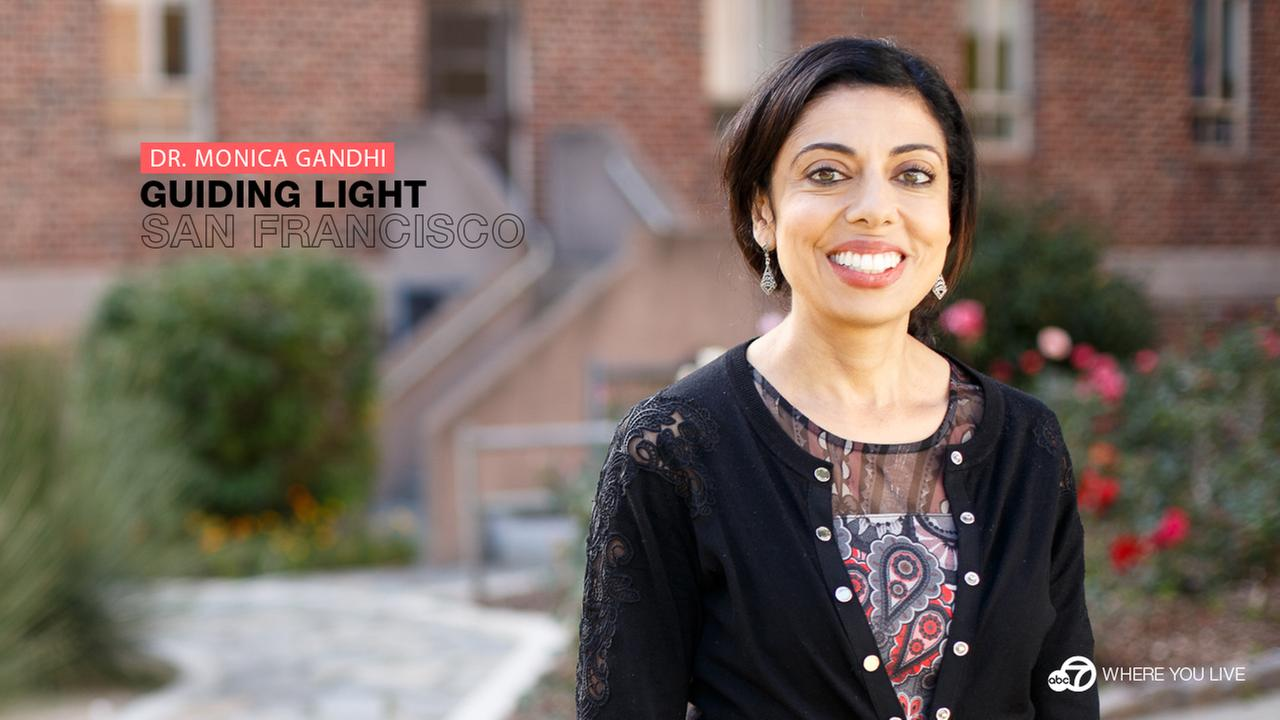 Guiding Light: Dr. Monica Gandhi is an expert in infectious diseases and the medical director of Ward 86, the oldest HIV/AIDS clinic at Zuckerberg San Francisco General Hospital.KGO-TV