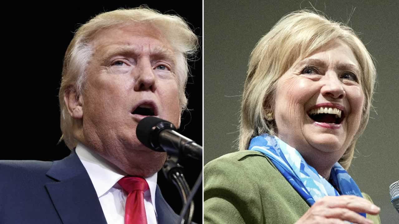 Presidential candidates Hillary Clinton and Donald Trump are on the campaign trail.