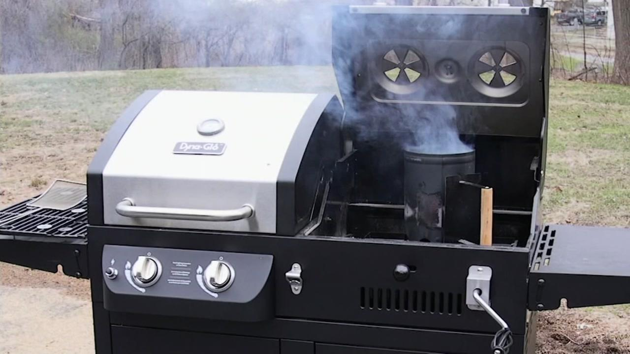 A grill is seen in this undated image.