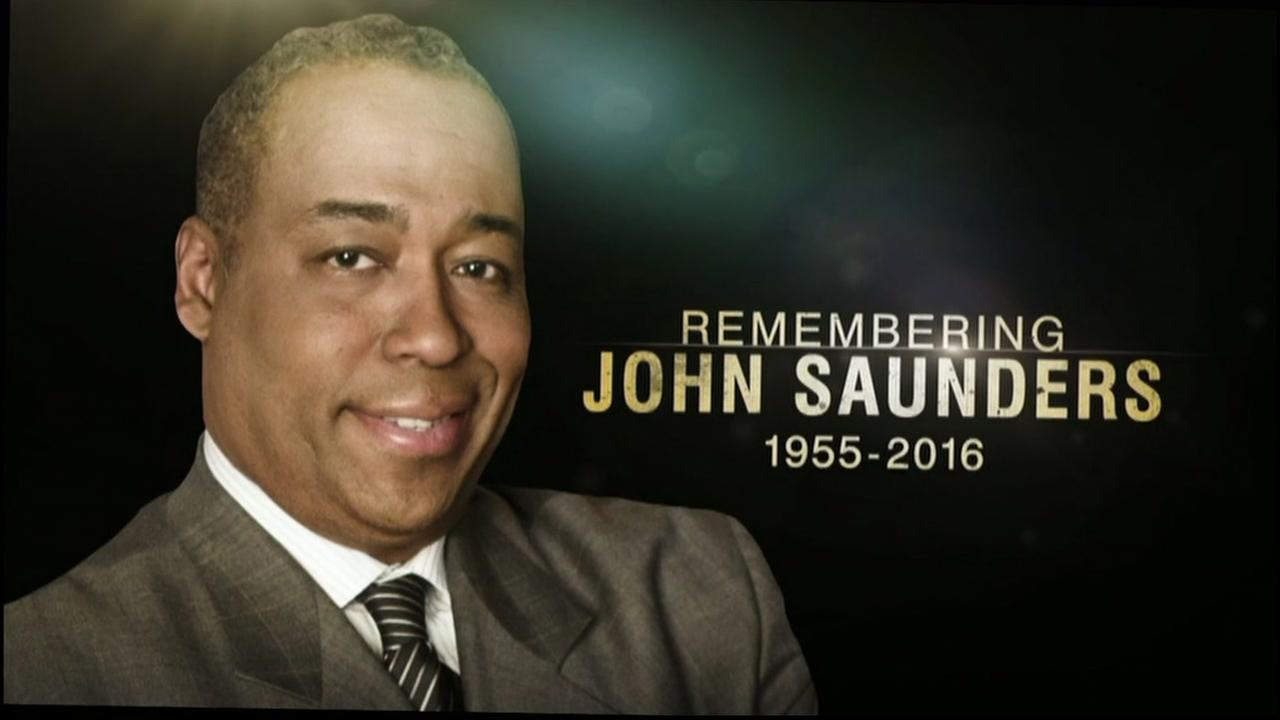 Longtime ESPN host John Saunders i seen in this undated image.
