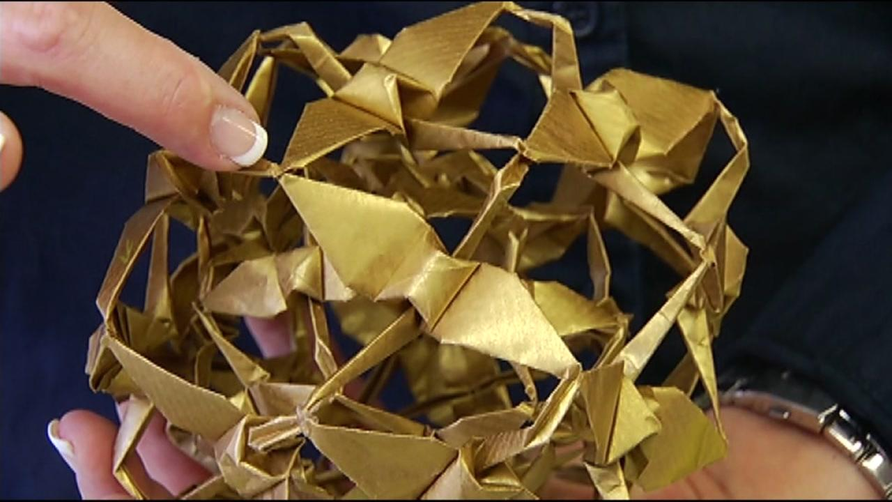 Origami is seen in this undated image.
