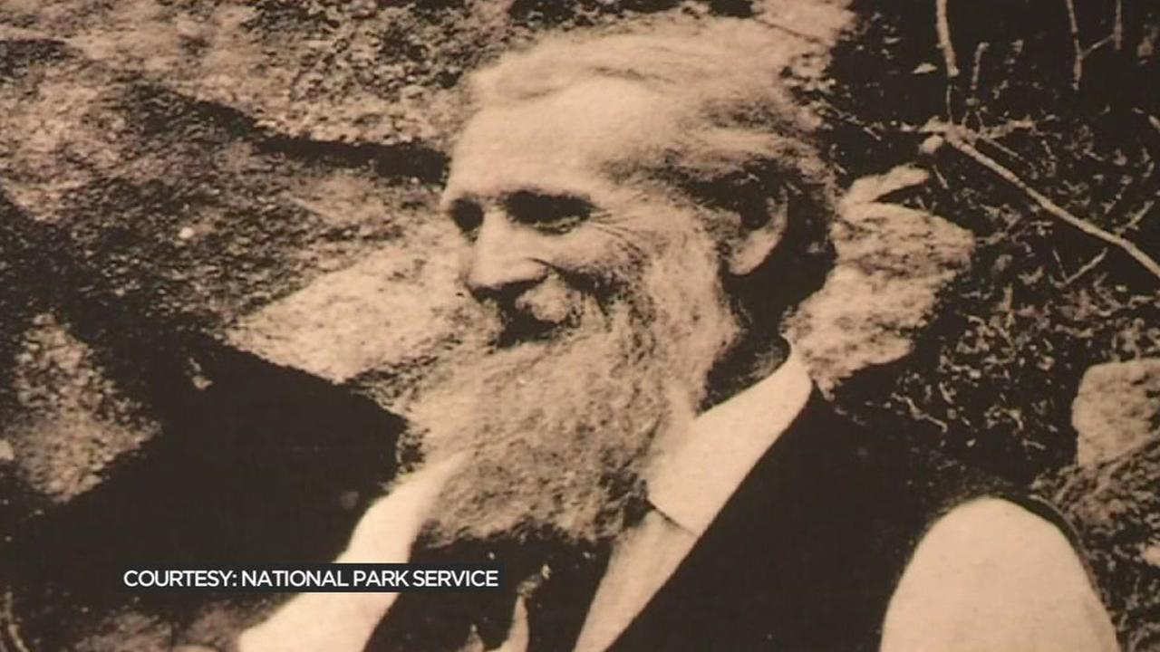 Famous environmentalist John Muir is seen in this undated image.