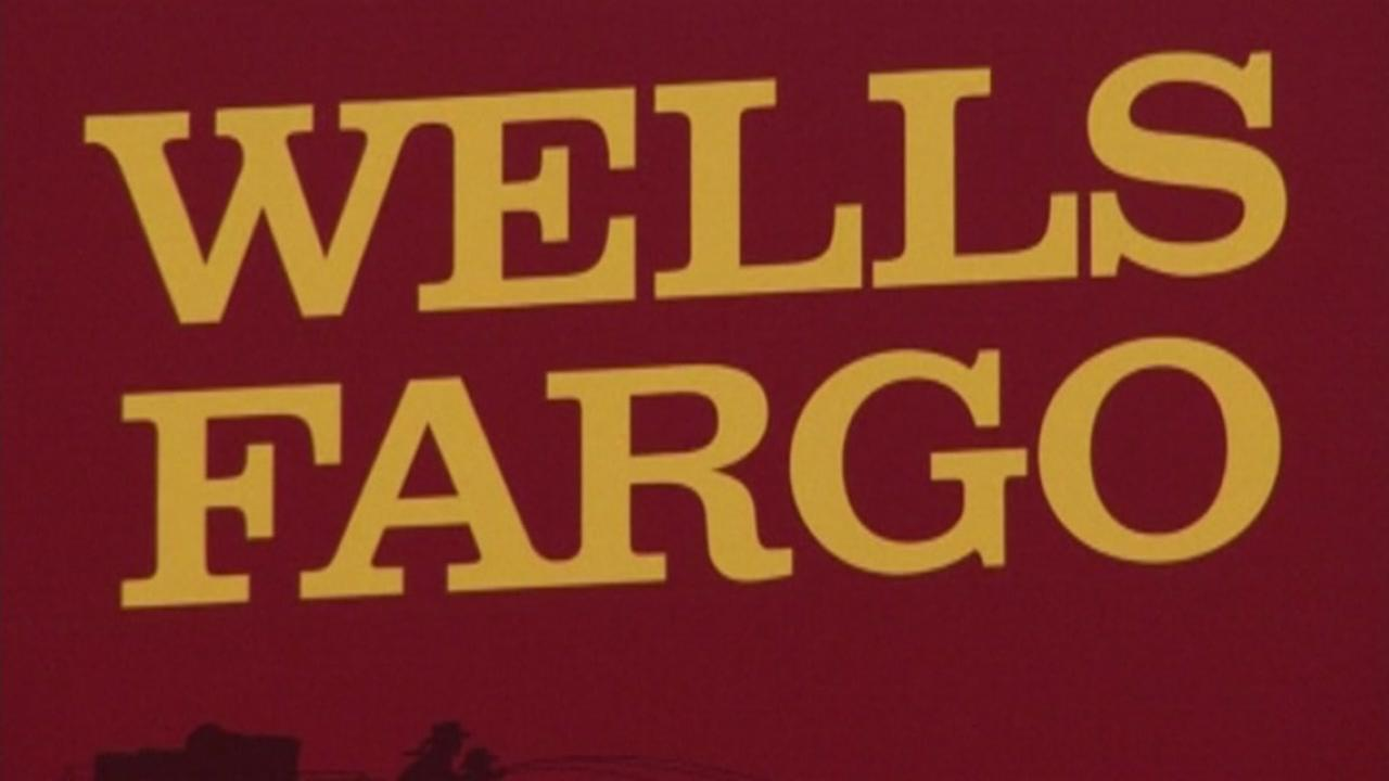 A Wells Fargo sign is seen in San Francisco, Calif. in this undated image.