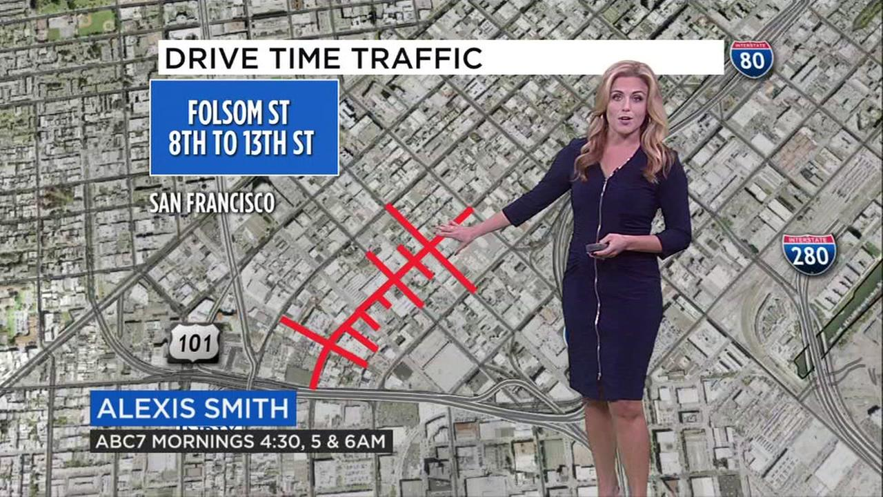 Alexis Smith has your weekend traffic report