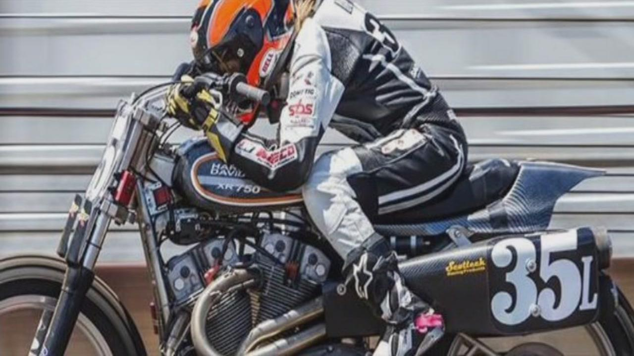 This image shows 22-year-old Charlotte Kainz of Wisconsin who died during AMA Pro Flat Track at the Sonoma County Fairgrounds on Sunday, Sept. 25, 2016.