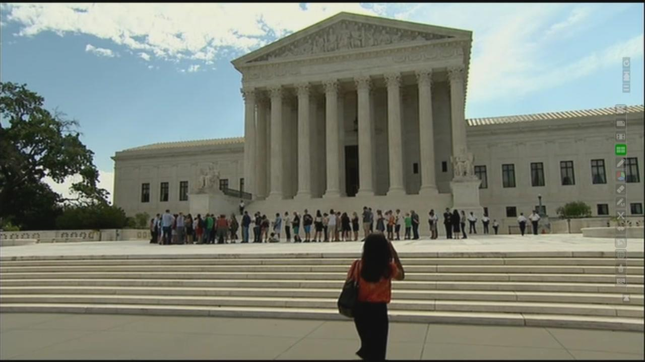 The US Supreme Court is seen in this undated image.