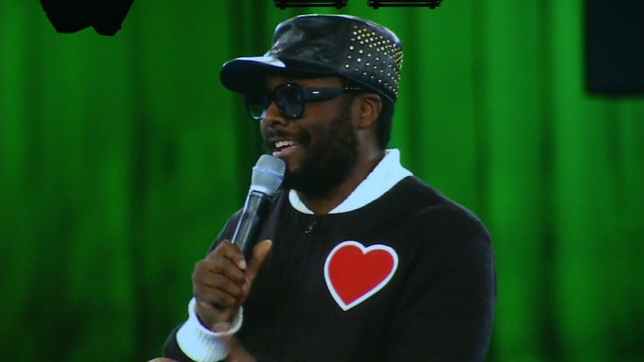 Rapper Will.i.am is seen at Dreamforce in San Francisco, Calif. on Wednesday, October 5, 2016.