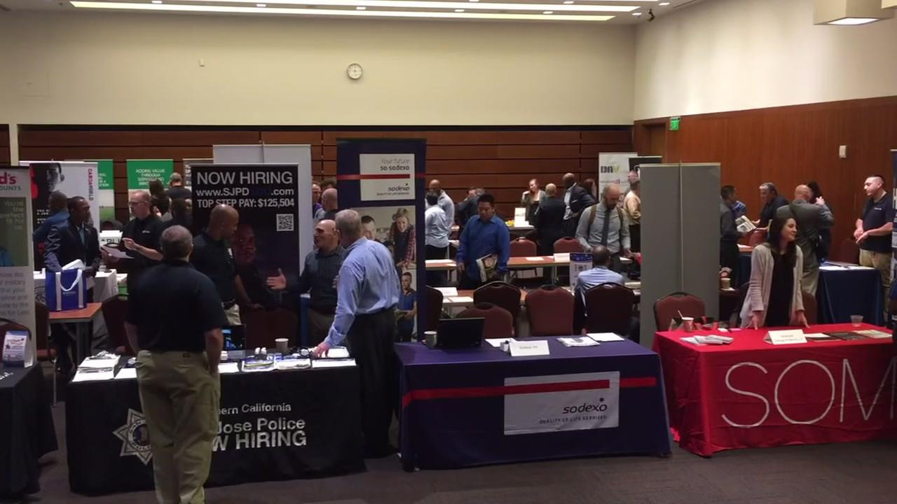 Job fair for veterans held in San Francisco