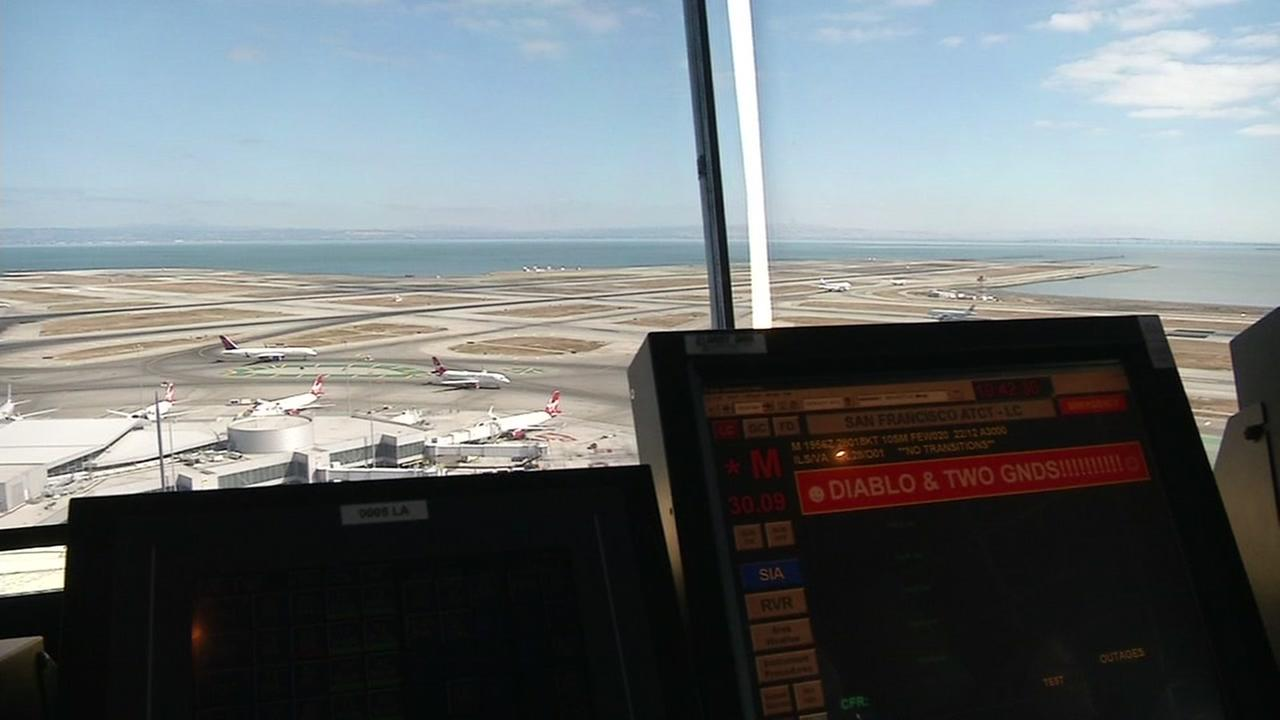 SFO-bound flight comes close to landing on wrong runway