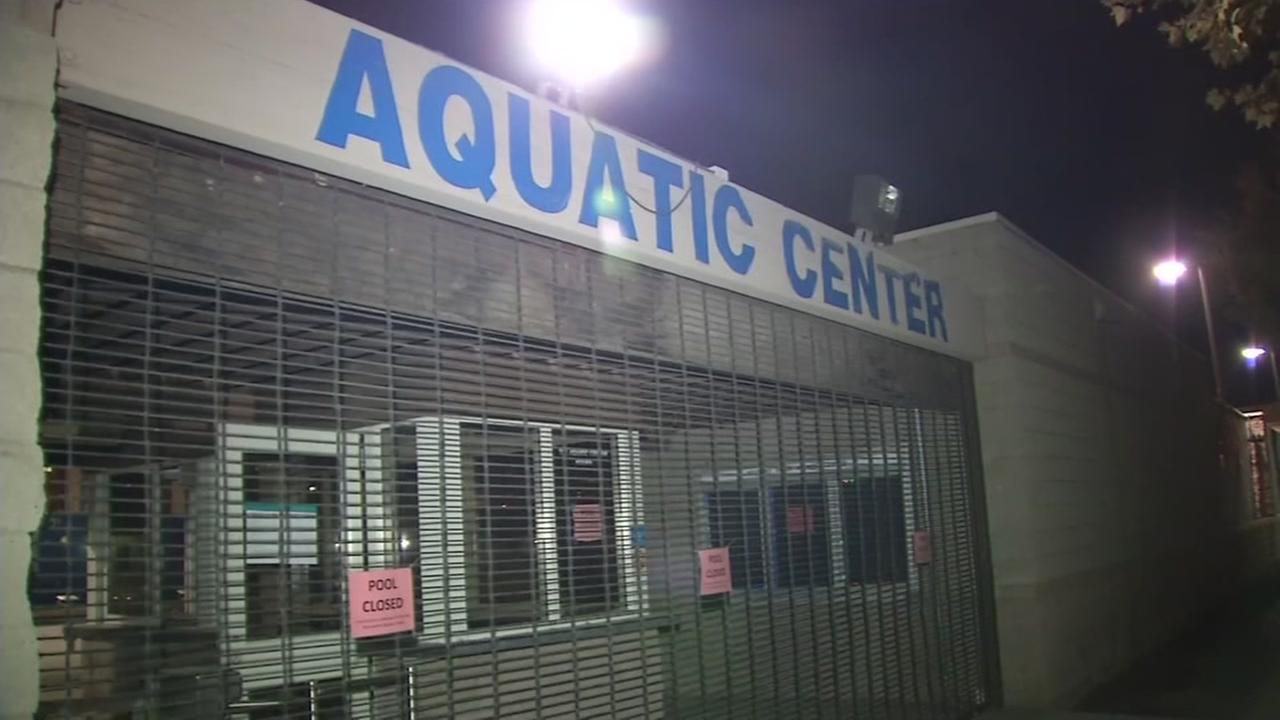 The Aquatic Center at San Jose State University is seen in this undated image.