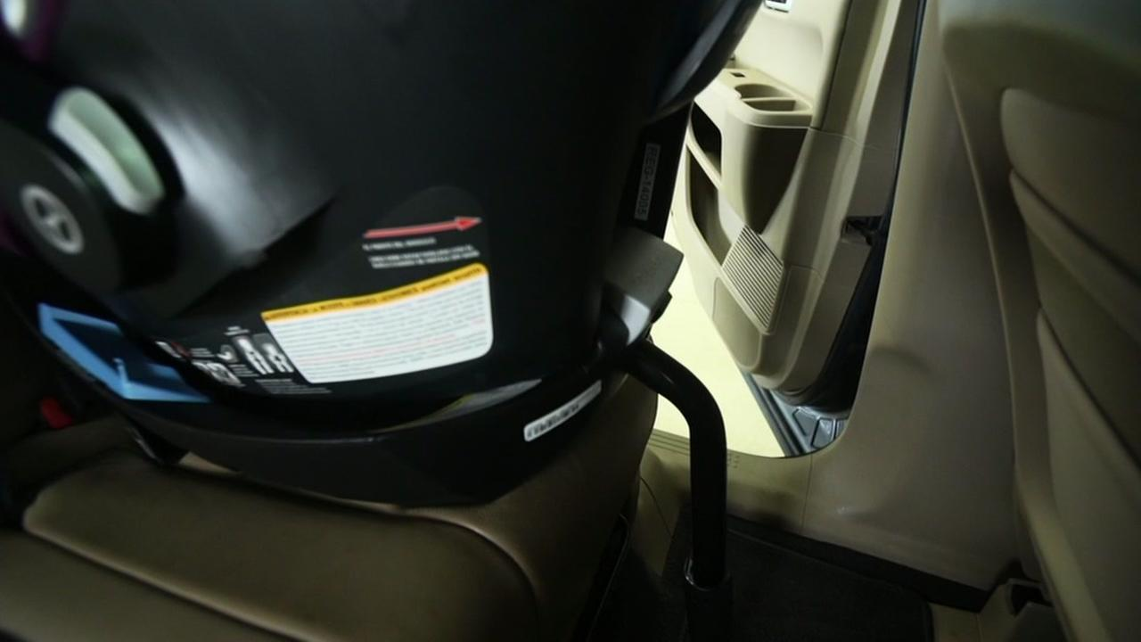 A car seat is seen in this undated image.