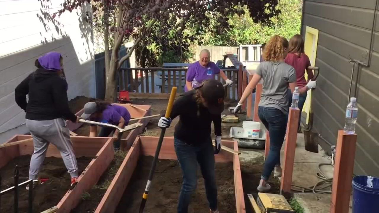 Habitat for Humanity repairs homes, preschool in SF