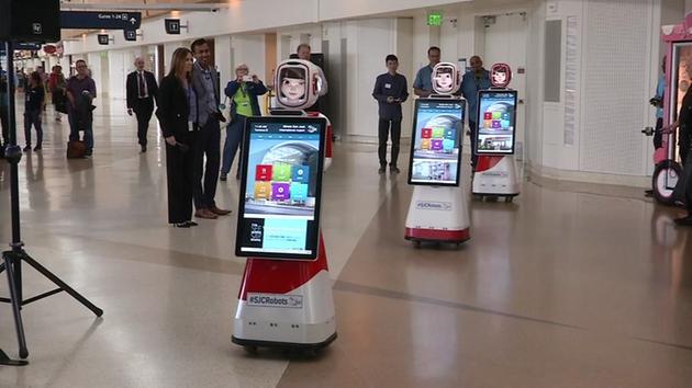 Trio of robots are Mineta San Jose Airport's newest hire