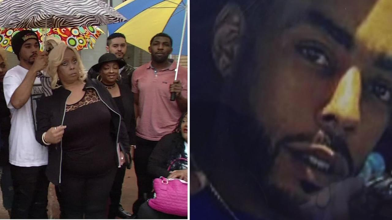 This split image shows shooting victim JaVont-e Prothro, who was killed in Richmond and his family as they appeared in Contra Costa County Court Oct. 27, 2016.