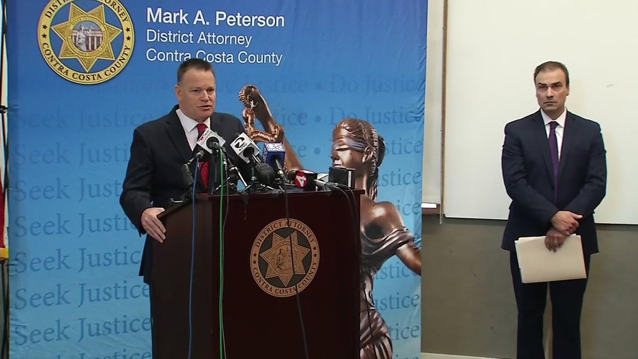 Contra Costa County District Attorney addresses police sex scandal