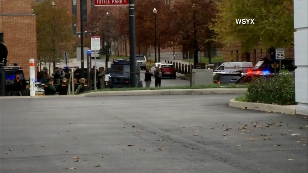 1 suspect dead, 8 injured following Ohio State shooting