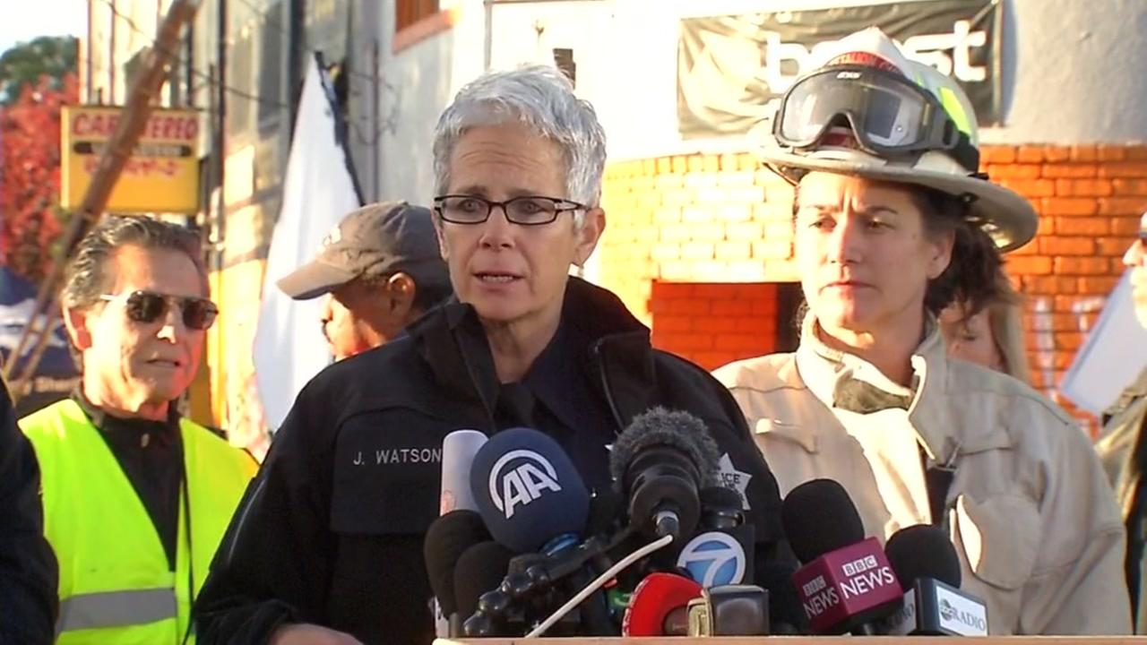 RAW VIDEO: News conference on Ghost Ship fire