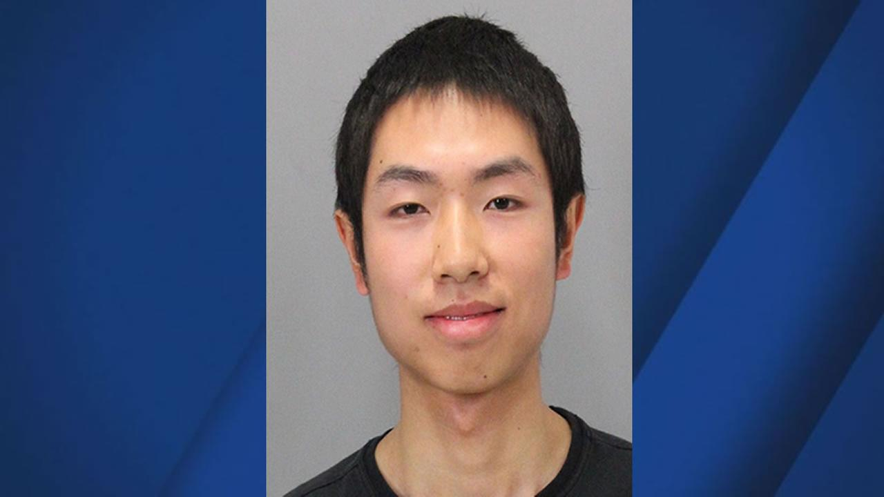 This is an undated mug shot of David Kong, a suspect in a San Jose State University assault case.