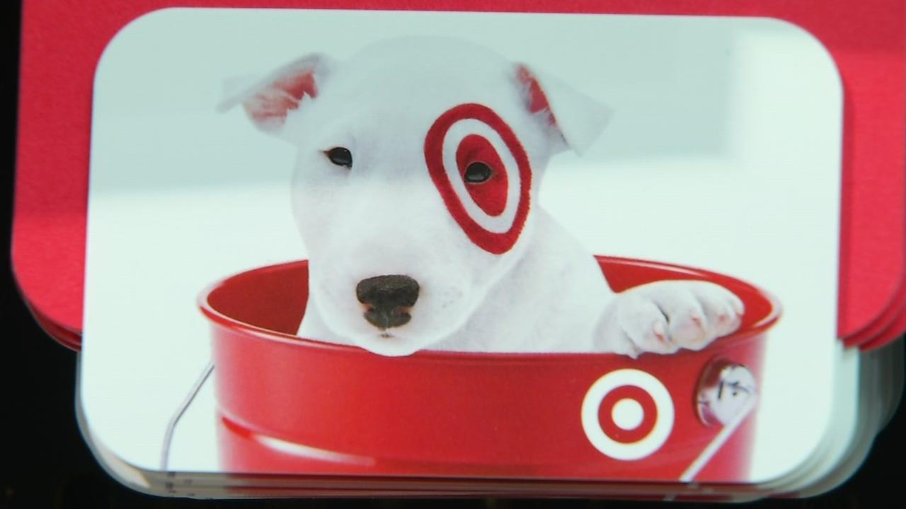 A Target gift card is seen in this undated image.