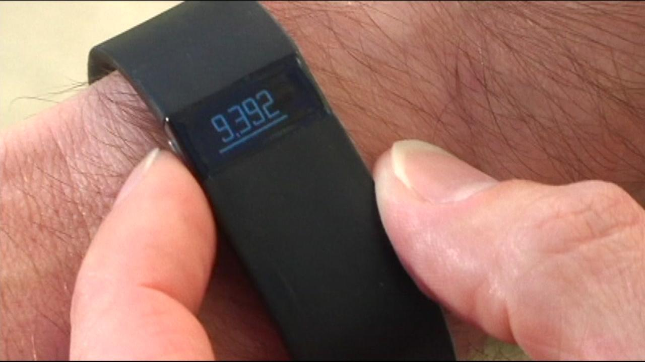 A fitness tracker is seen in this undated image.
