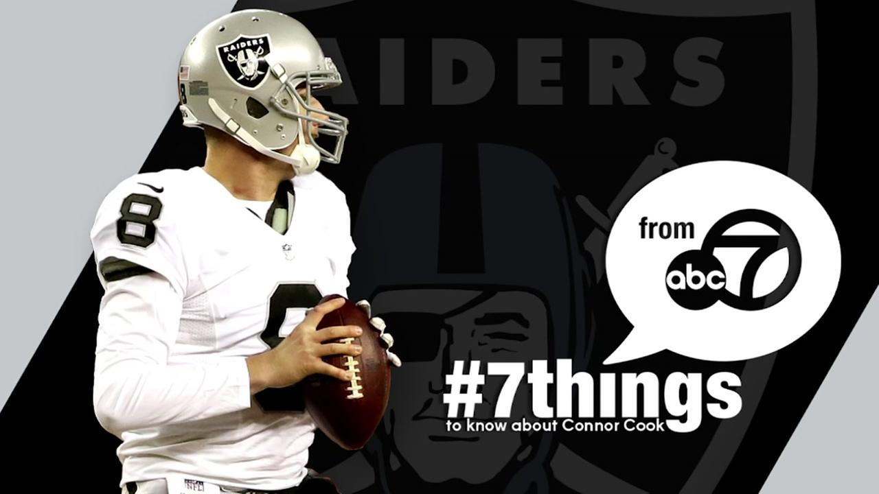 7 Things to know about Raiders rookie Connor Cook