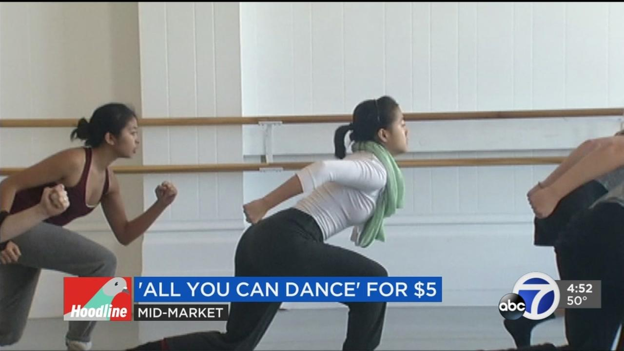 All you can dance for 5 tops weekend events in San Francisco