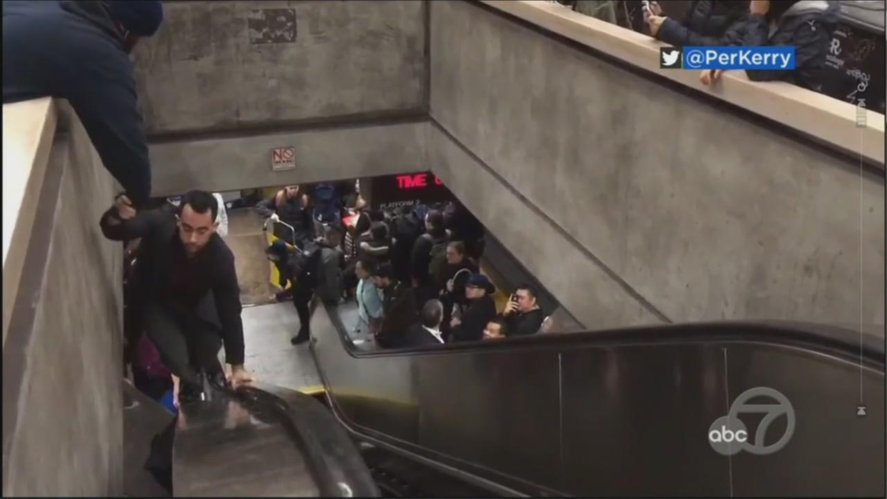 BART offers explanation for ongoing escalator issues system wide