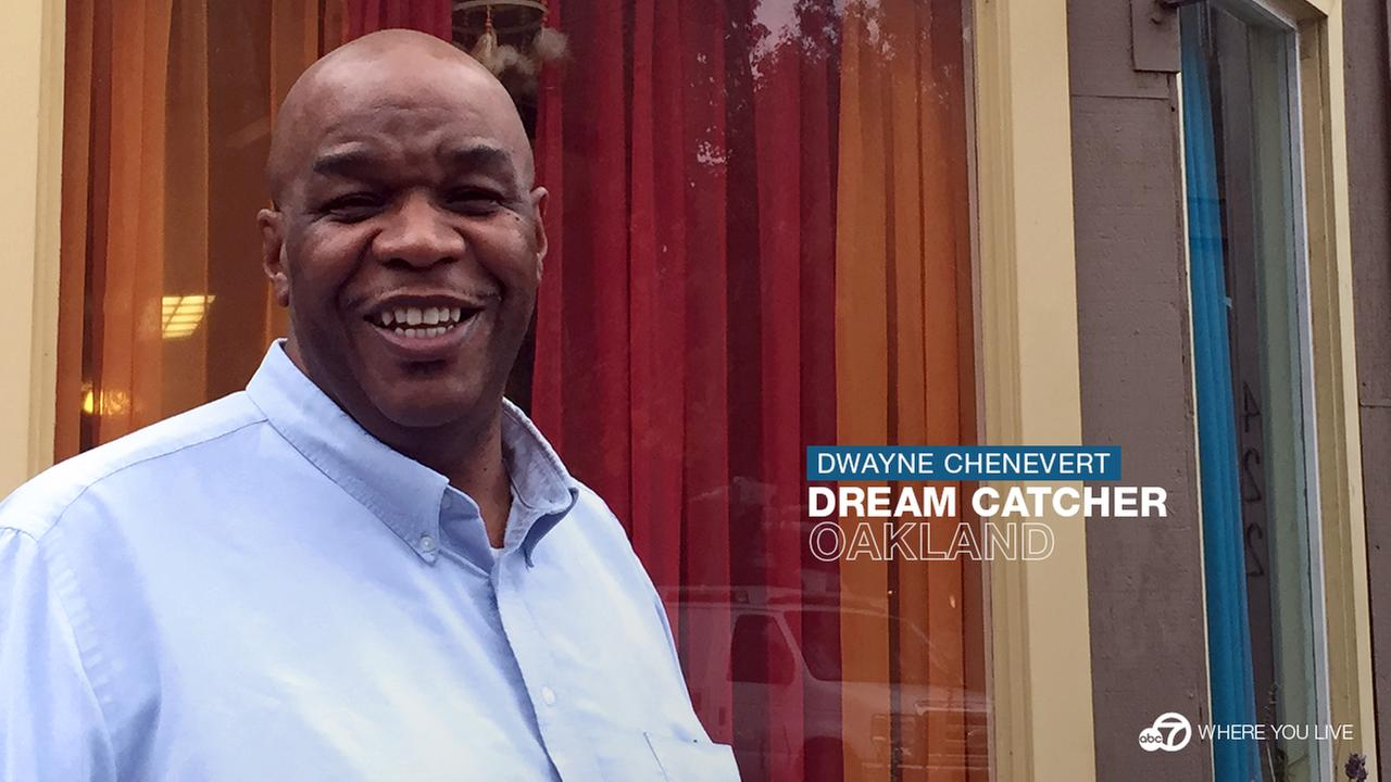 Dwayne Chenevert helped launch the Oakland youth center DreamCatcher and still works there every day.KGO-TV