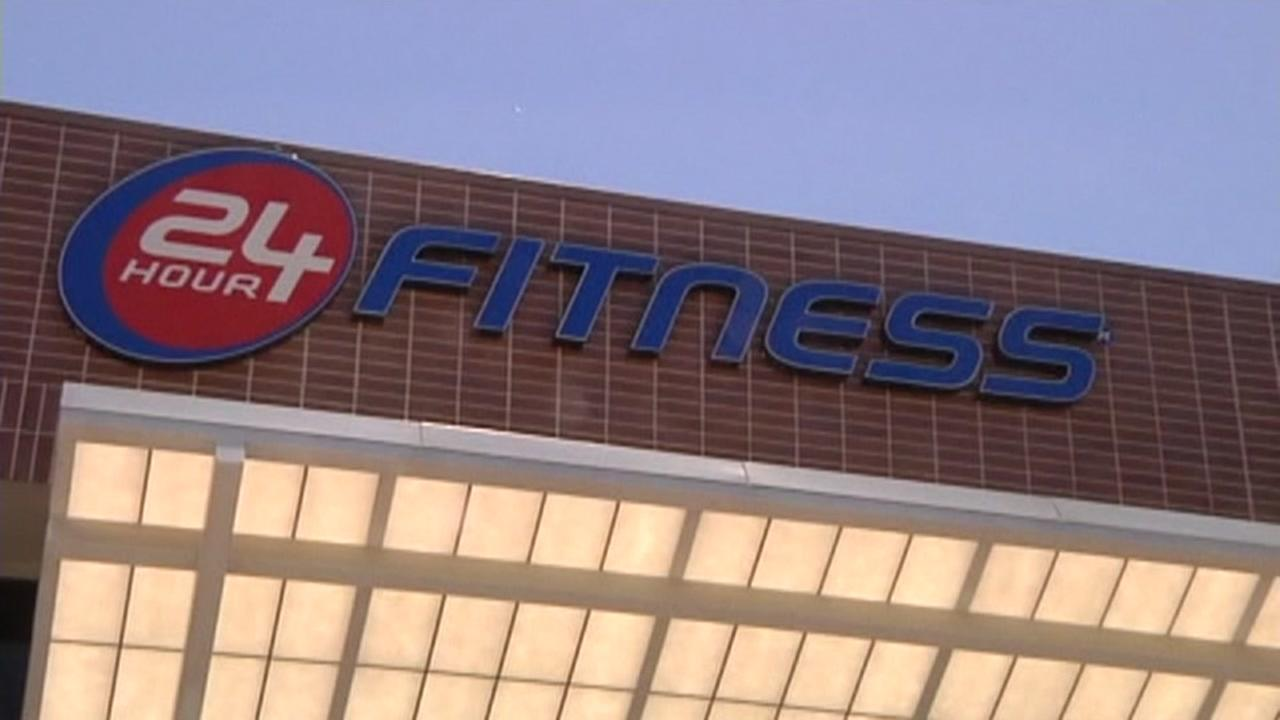 A 24 Hour Fitness center is seen in this undated image.
