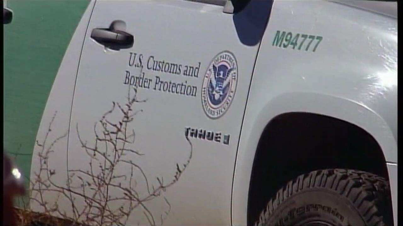 A U.S. Border Patrol truck is seen in this undated image.