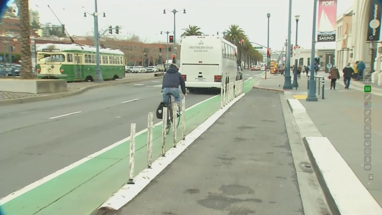 Transportation officials want to make Embarcadero more bike friendly