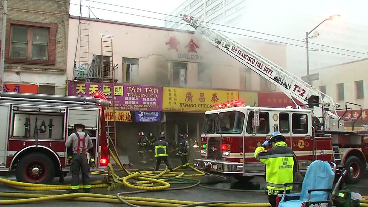 Massive fire in Chinatown displaces residents and business owners