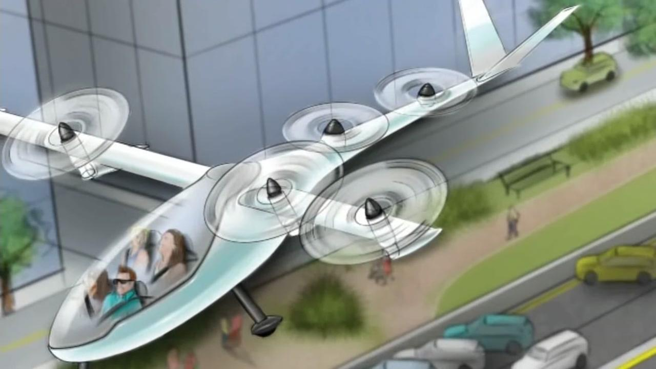 Uber working to develop flying car models with NASA engineers