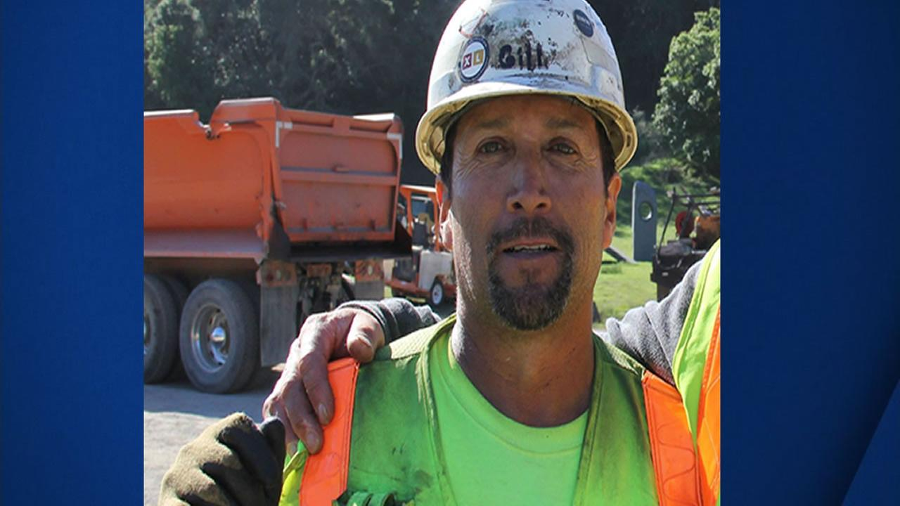 This is an undated image of Robert Bobby Gill, who was killed on Highway 17 while cleaning up a mudslide on Feb. 9, 2017.