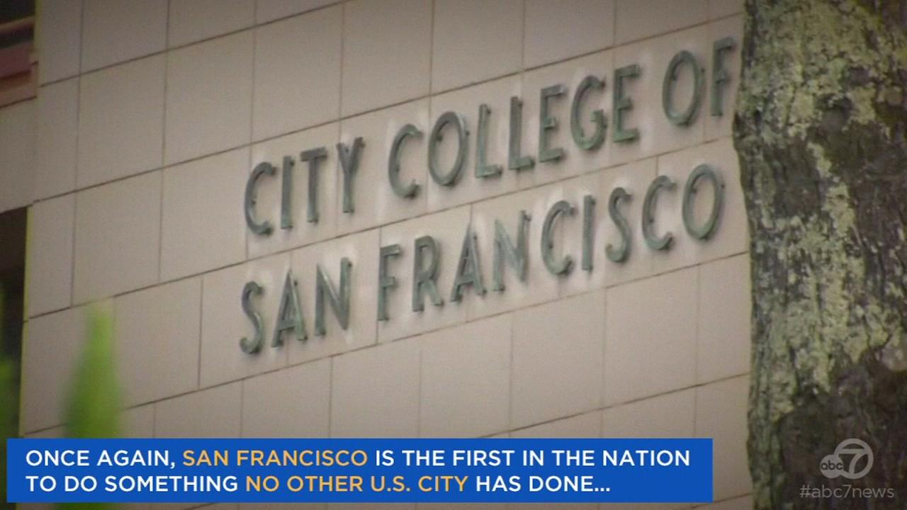 City College in San Francisco, Calif. is seen in this undated image.