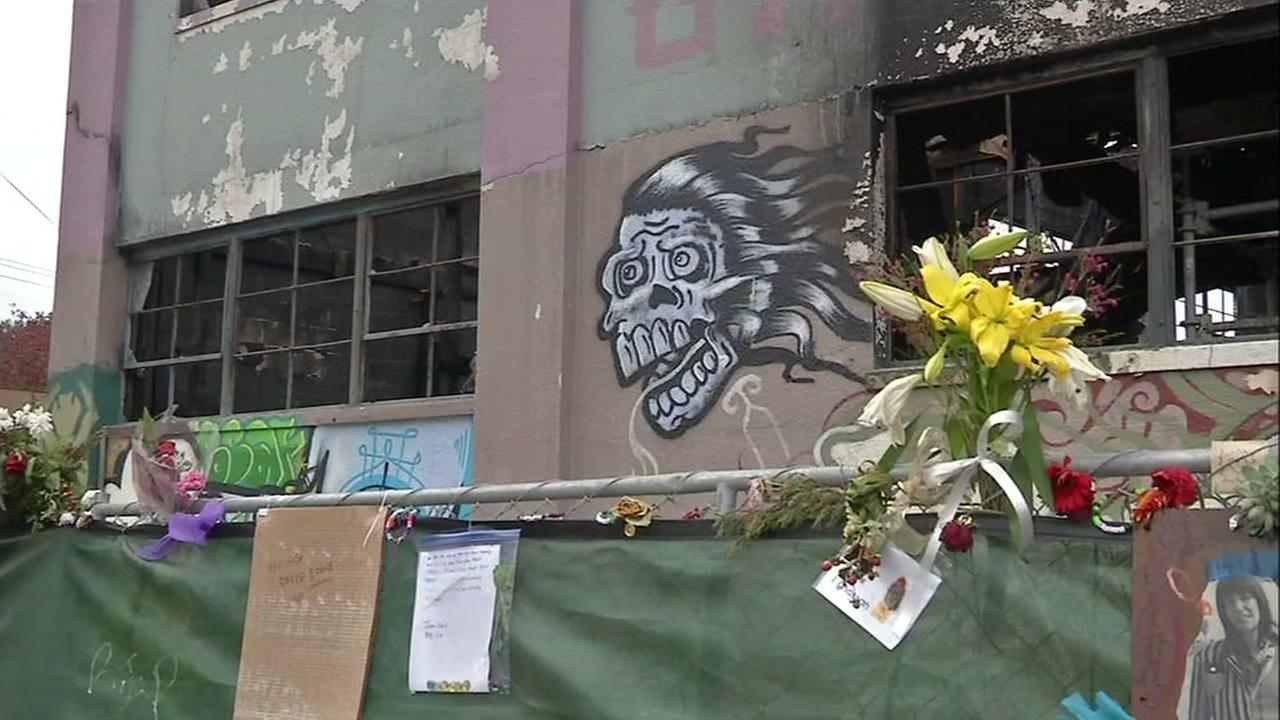 Oakland artist building shut down after fire, blocks away from Ghost Ship