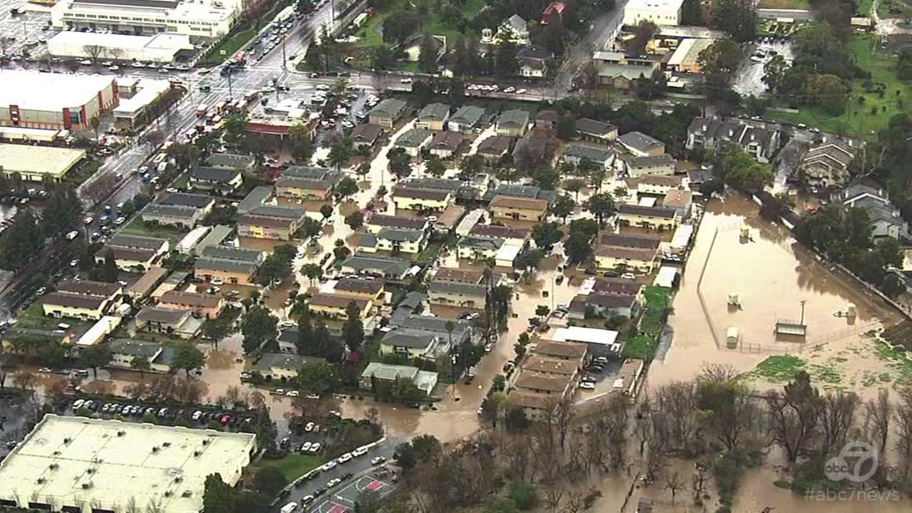 VIDEO: Powerful winter storms create dangerous conditions in San Jose