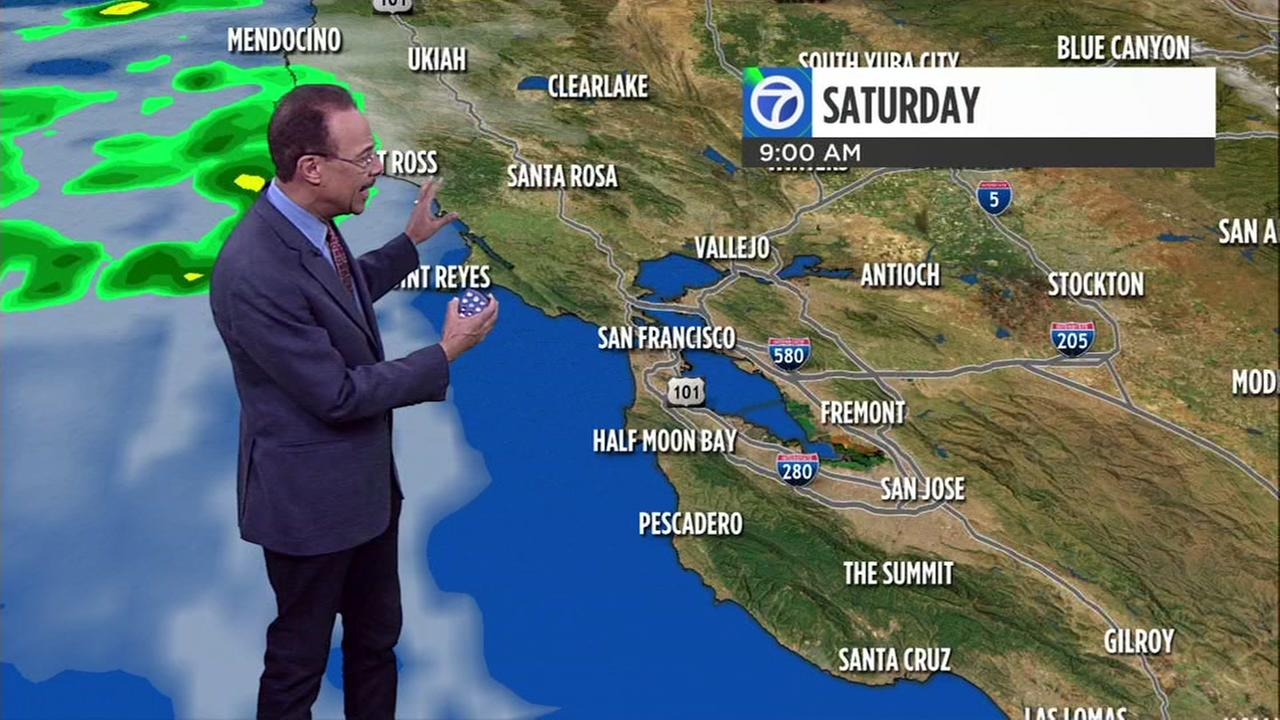 Watch your ABC7 AccuWeather forecast for Saturday morning
