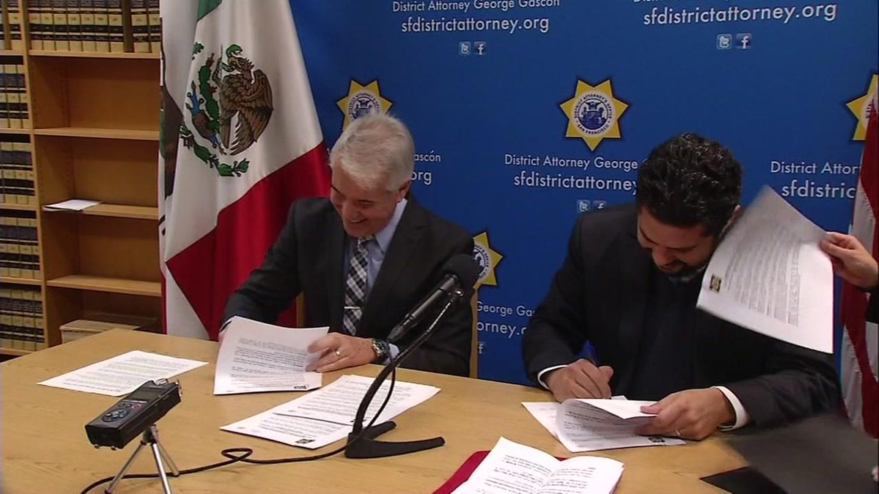San Francisco, Mexican lawmakers vow to protect undocumented community