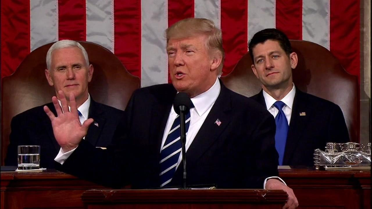 Trumps speech leaves Republicans divided on key issues