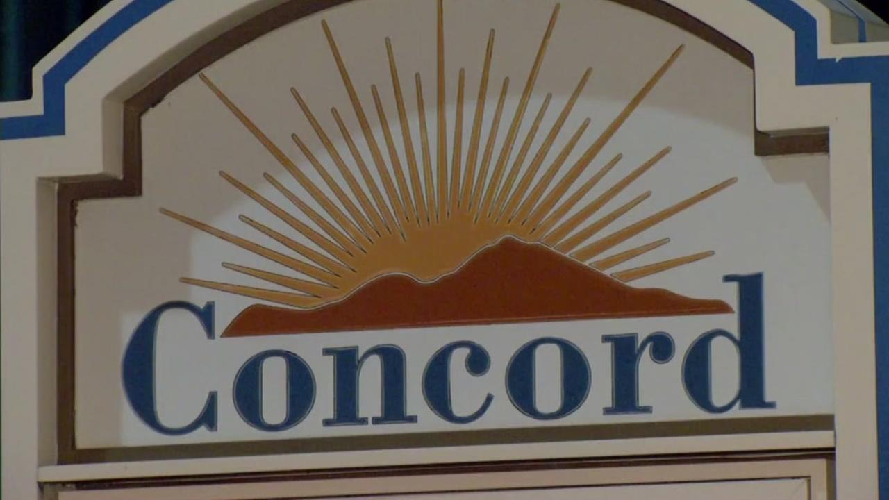 This is an undated image of the sign as you enter Concord, Calif.