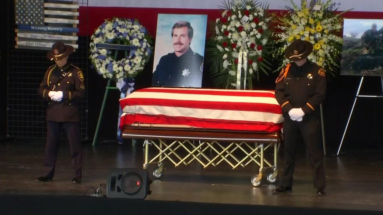 Alameda County Sheriffs Deputy Michael Foley laid to rest