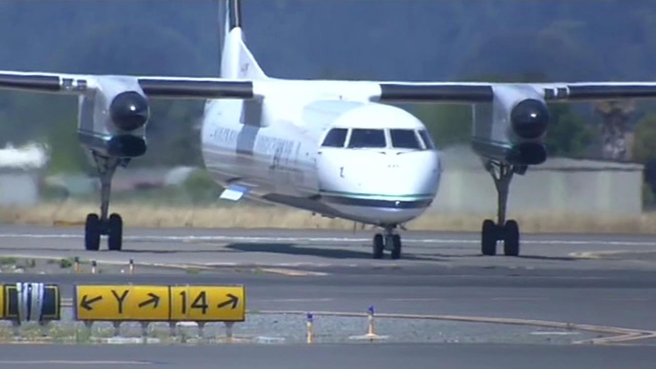 Three flights to Sonoma County this week have been cancelled, including one that was just about to land.