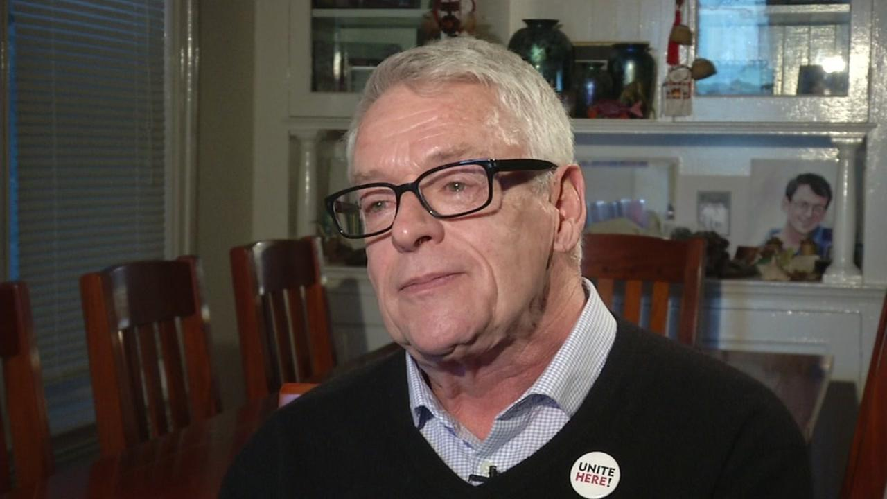 Cleve Jones sits down with ABC7 News at his home in San Francisco in this undated image.
