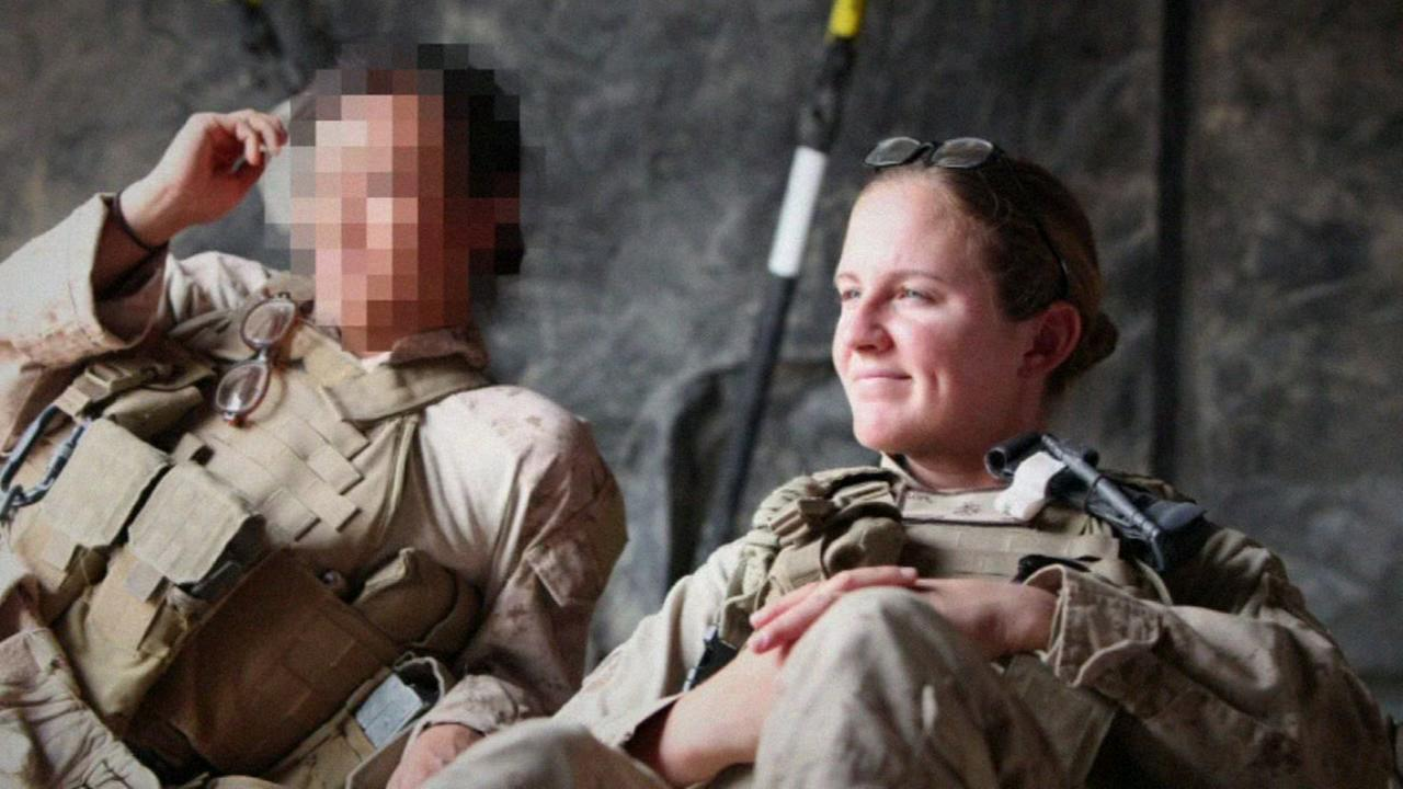 FILE -- Former Marine Corps Lance Corporal Kathryn Campbell